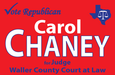 Carol Chaney for Judge Logo